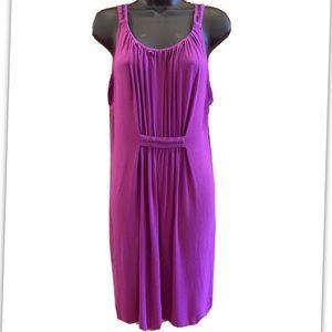 Purple Code Dress For Women- Size 14